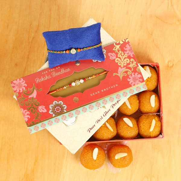 Rakhi With Sweets Online Delivery