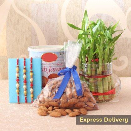 send rakhi online - Heart Touching Present