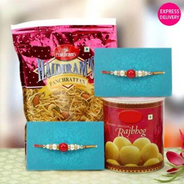 Blessed Combo - Rakhi Gifts To Mirzapur