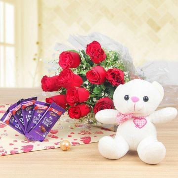 Flower Combo - Send Gifts To Kushalnagar