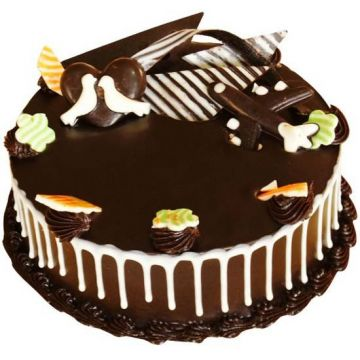Dark Wonder Chocolate Cake - Gifts for Amravati