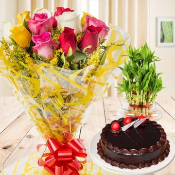 Blissful Gift Combo - Friendship Day Gifts to Ghaziabad