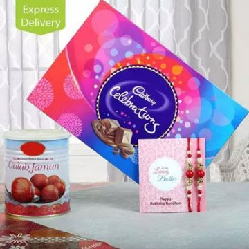 Bonding of Sweetness - Rakhi Gifts To Guntur