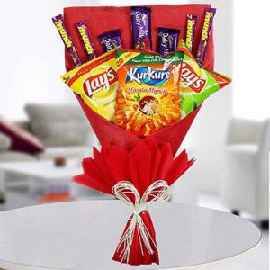 Sweet Munching Bouquet - Chocolate Delivery Online