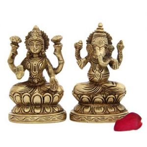 Lakshmi N Ganesh Idols - Corporate Gifts Online