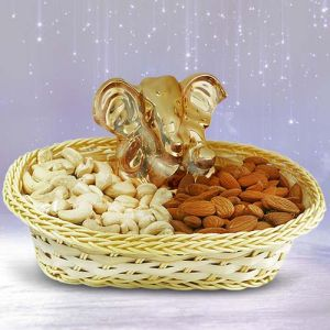DEVOTIONAL DRYFRUITS BASKET - Gifts for Dhanteras