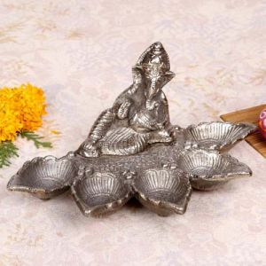 Ganesha Panch Batti Diya - Gifts for Dhanteras