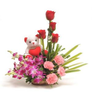 Sweet Inspiration - Send Birthday Flowers Online
