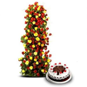 Love Forever - Send Christmas Flowers Online