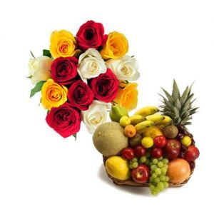 Roses N Fresh Fruits