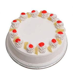 Pineapple Cake 1kg - Cakes Same Day Delivery