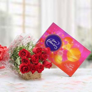 Flowery Celebrations - Send Valentines Day Flowers Online