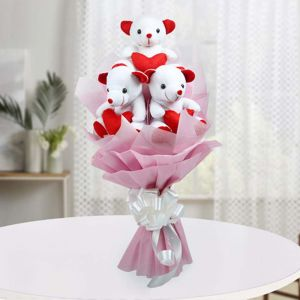 Teddy Chocolate Bouquet - Teddy Day Gifts Online - Best Gift Ideas for Teddy Day