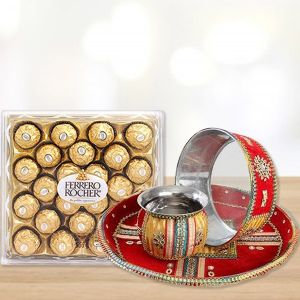 With Lots Of Love - Karwa Chauth Gifts for Bahu