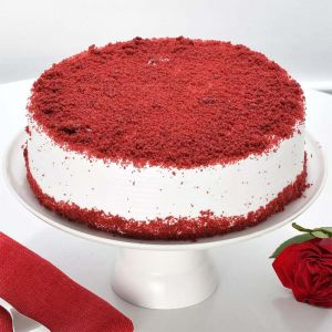 Half kg Red velvet Cake - Same Day Delivery Gifts