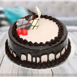 Half kg Chocolate Cream Gateaux Cake - Chocolate Cakes Online