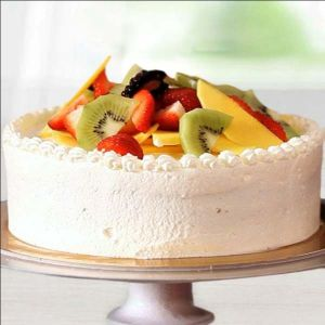 Tempting Round Fruit Cake - Online Cake Delivery in Chandigarh