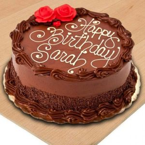 Beautiful Chocolate Birthday Cake - Online Cake Delivery In Noida