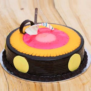 Duet Swirls Cake   - Online Cake Delivery in Chandigarh