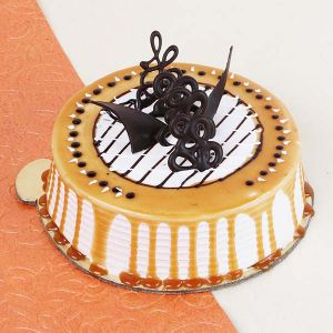 Trendy Delicious Caramel Sweet Cake - Gifts Under 2000