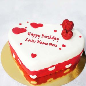 Hearshape Red velvet cake 1 kg - Send Heart Shaped Cakes Online