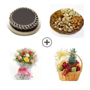 Joy To The World - Flowers & Dry Fruits