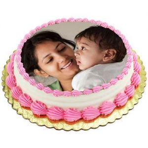 Mothers Day Photo cake - Photo Cakes Online