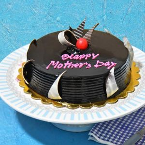 Mothers Day Chocolate cake Half kg - Gifts for Mother in Law