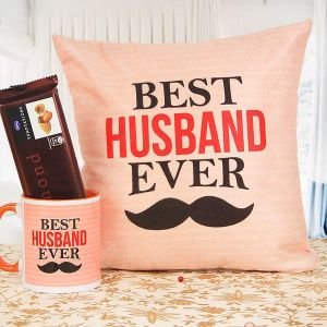 Best Husband Ever - Personalized Cushions Online