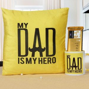 My Hero Dad - Birthday Gifts for Father