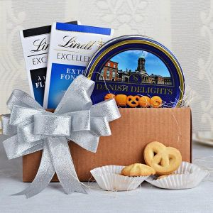 Cookies with Lindt Special Chocolates