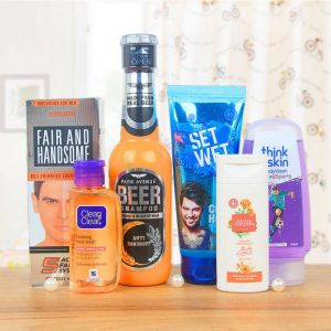 Guy Essentials - SPA And Cosmetics Gifts Hampers