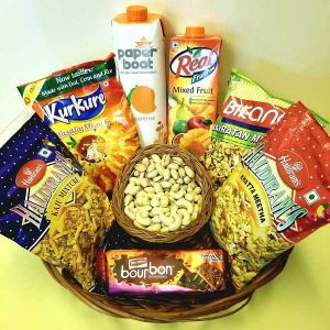Snacks With Dry Fruits - Send Gift Hampers Online