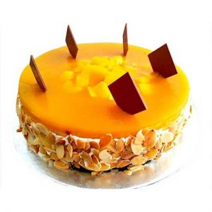 Mango Cake 1kg - Send Online Birthday Cakes