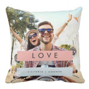 Summer Love Throw Pillow - Unique Personalised Gifts Online India