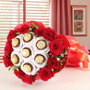 Chocolicious Flower - Same Day Delivery Gifts