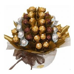 Elegant Chocolate Bouquet