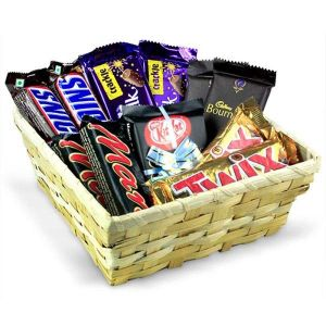 Chocolicious Gift Basket Hamper - Chocolate Delivery Online
