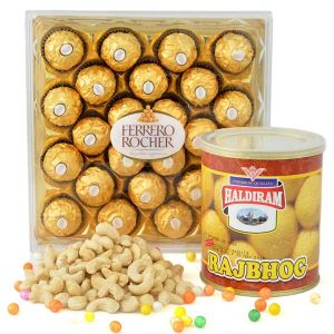 Crunchy Chocolaty And Sweet Combo - Chocolate Delivery Online