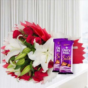 Love Lillies and Chocolates