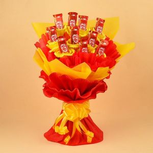 KitKat Chocolate Bouquet - Chocolate Delivery Online