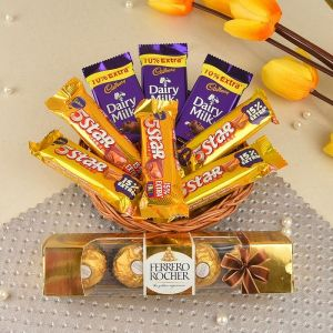Chocolaty Romance Delight - Chocolate Day Gifts Online