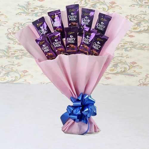 Dairy Milk Bouquet- Father's day chocolate gifts
