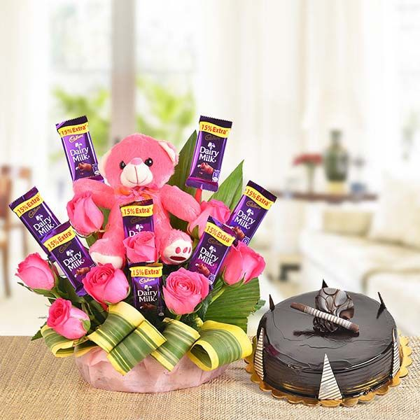 BASKET OF SWEETNESS- Father day gifts from son
