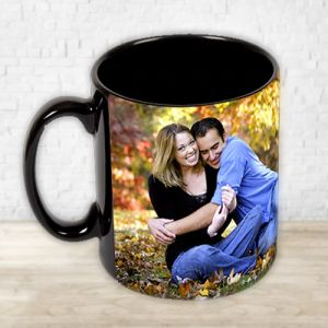 Personalised Black Mug