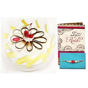 Rakhi Exotic Pineapple Cake