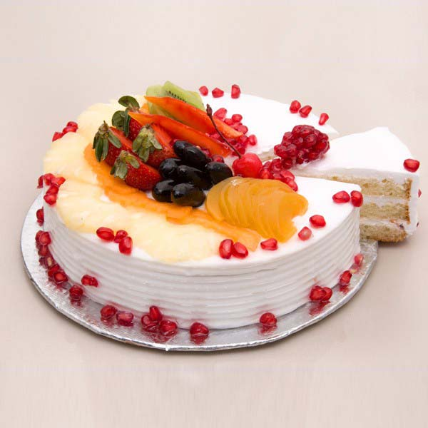 Fruit Fresca Cake - Anniversary Cake Delivery Online