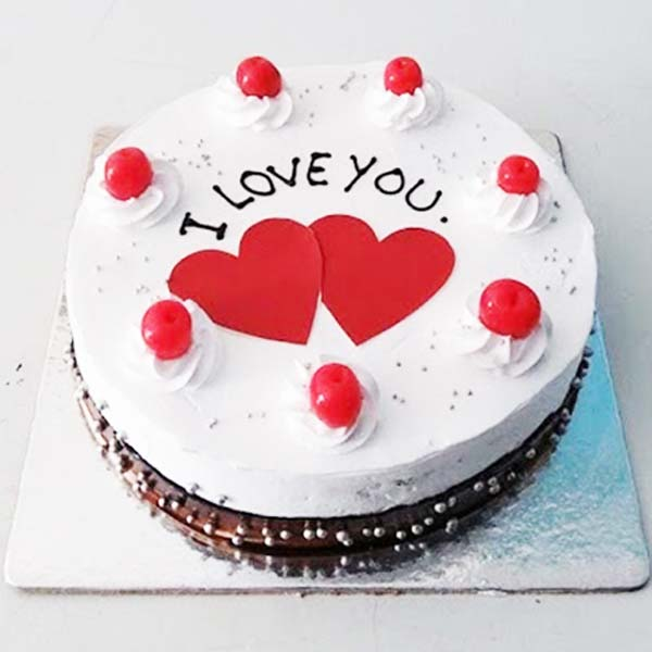 Love in Black Forest - Anniversary Cake Delivery Online