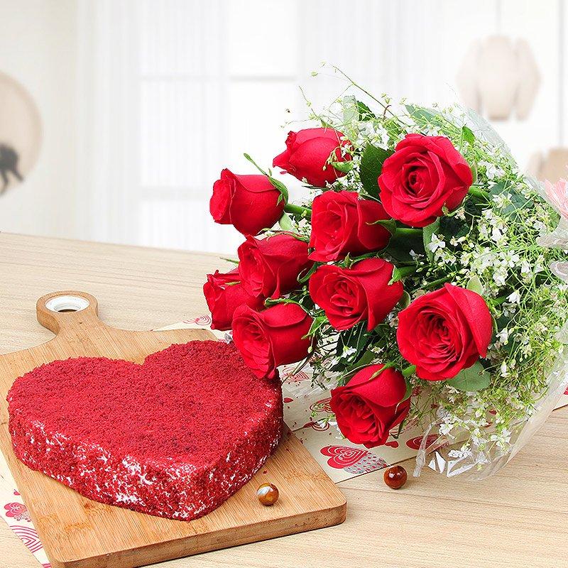Velvet Romance India - Anniversary Gifts Online