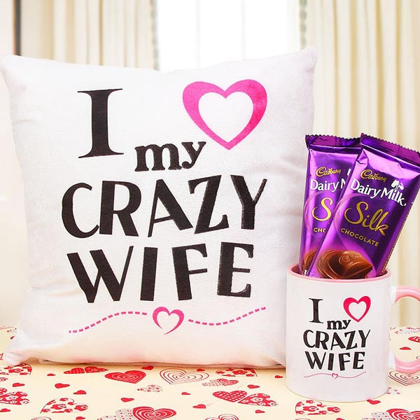 My Crazy Wife - Anniversary Gifts For Wife Online